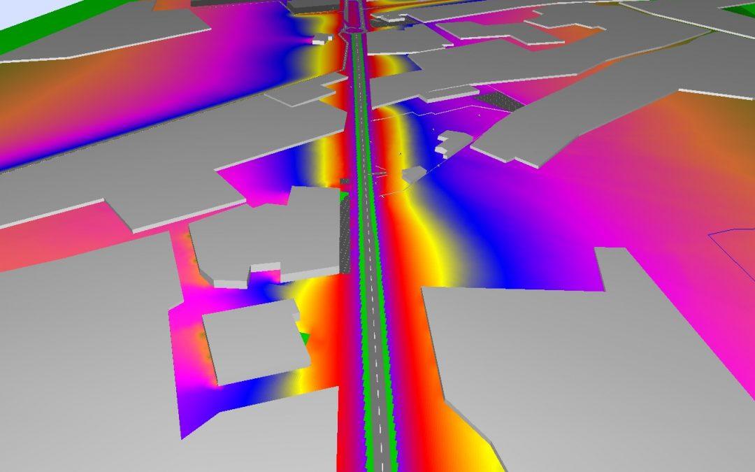 Estudio Acústico Ambiental de Centro de Almacenamiento de Chatarra y Descontaminación de Vehículos.