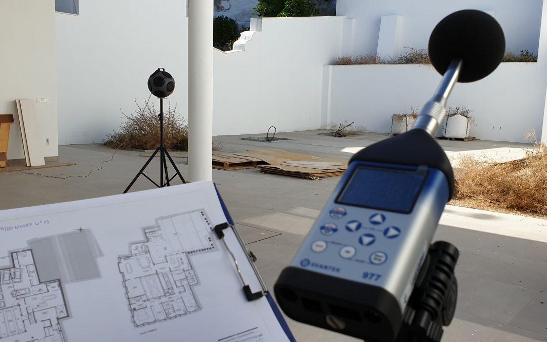Mediciones acústicas en actividades y viviendas.